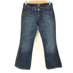 7 For All Mankind Womens Jeans A Pocket Boot Cut